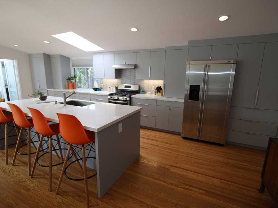 Mid Century Modern Inspired Costa Mesa Kitchen Remodel Beauteous Kitchen Remodel Orange County Set Remodelling