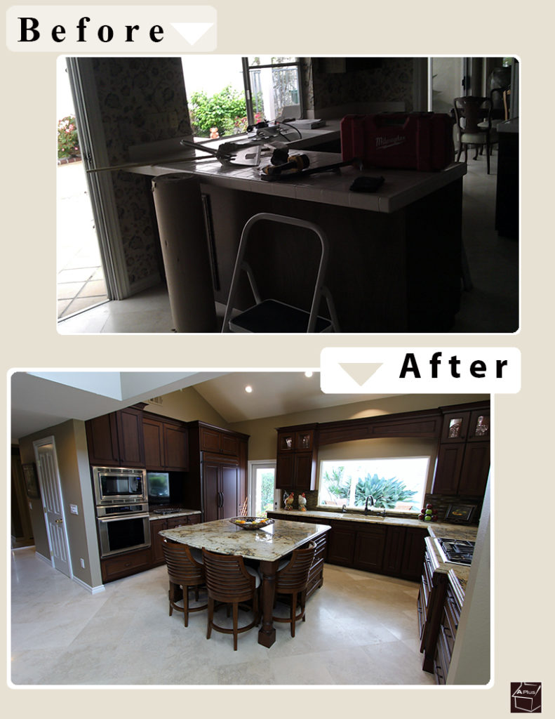 Traditional Design Build Kitchen in Irvine