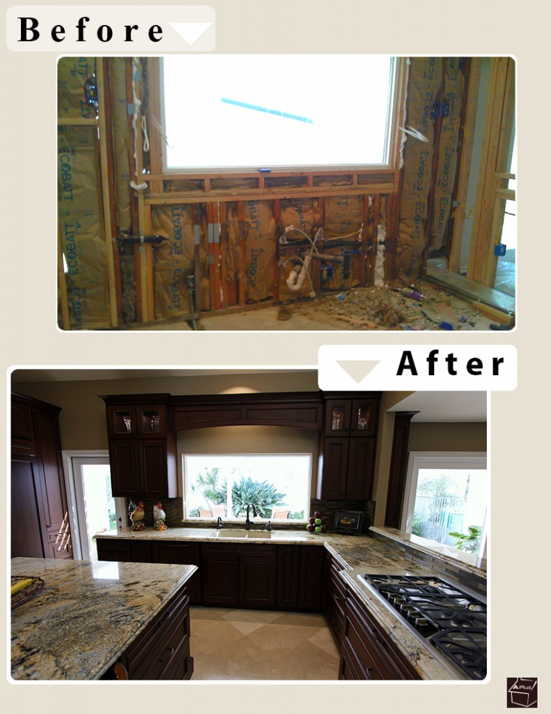 Custom Traditional Kitchen Remodel in Irvine