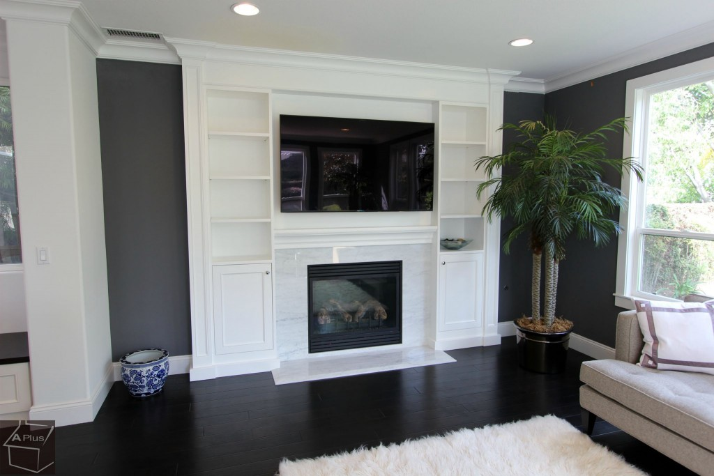 Fullerton Transitional Home Remodel with custom white cabinets