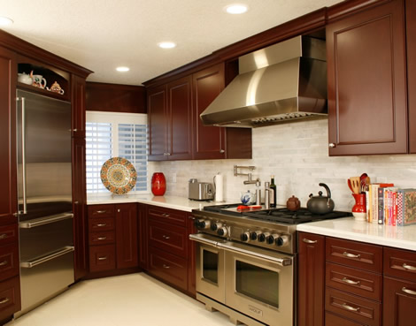 Cooking Area and planning & design of kitchen remodel in Newport beach california