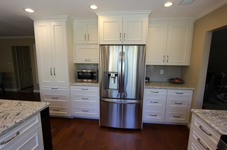 Planning for a kitchen remodel in Irvine Orange County Fridge