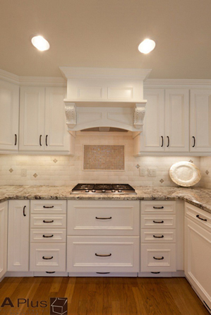 Irvine Kitchen Remodeling with Custom Island by APlus Kitchen & Bath