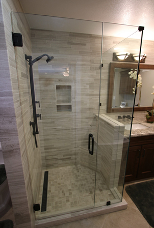 Custom Bathroom Shower Orange County