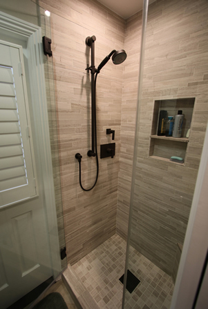 Master Shower Remodel in Orange County
