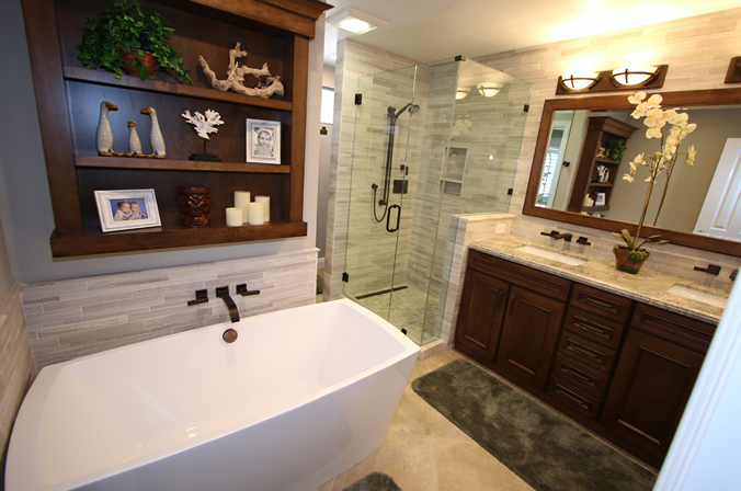 Master Bathroom Remodel in Orange County