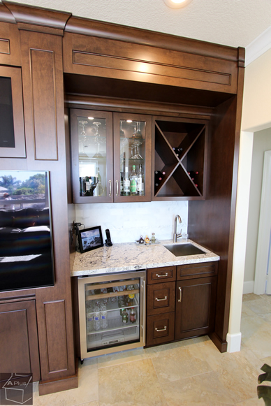 Yorba Linda Custom Home Remodel with built-in Bar & Enetertainment Center