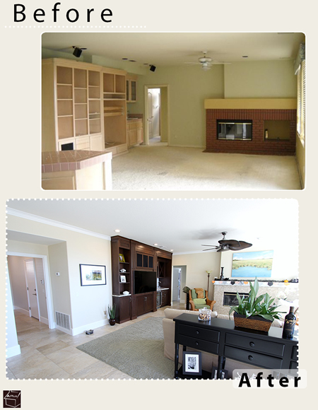 Yorba Linda Home & Kitchen Remodel with Custom Cabinets