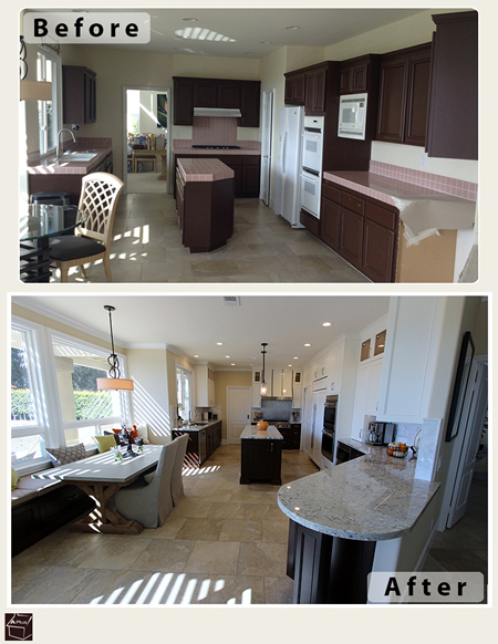 Yorba Linda Kitchen Remodel with Custom Cabinets