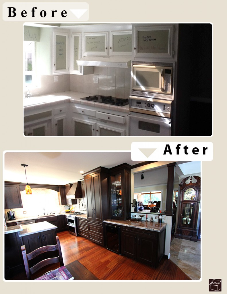 Laguna Niguel Design Build Kitchen with Custom Cabinets