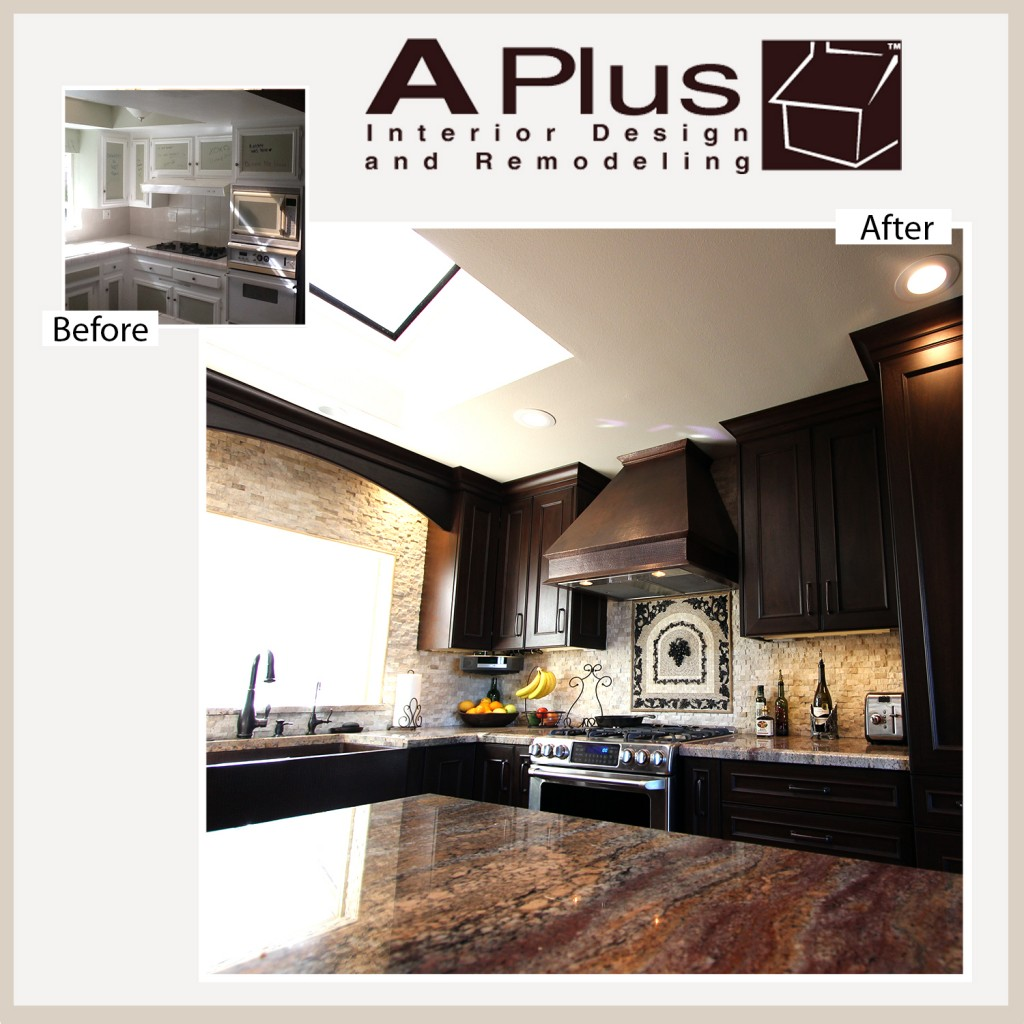 Laguna Niguel Renovations of a Kitchen with APlus Custom Cabinets