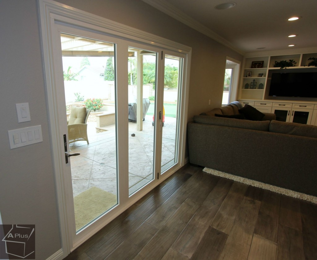 Slider door remodel