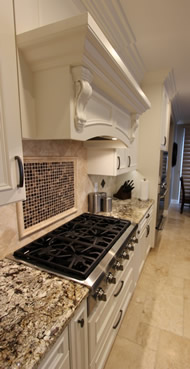 Cooking with Stove Top in a kitchen remodel and planning pointers in Laguna Beach California