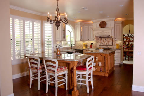 Country Style Kitchen Orange County