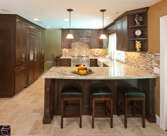 Interior Design Kitchen Idea Remodeling in Orange County