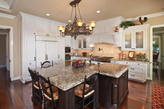 Kitchen Island for Couples in Orange County