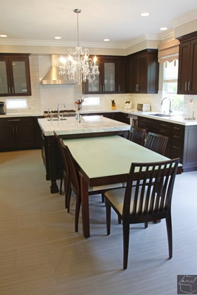 Kitchen Planning Orange County Dinning