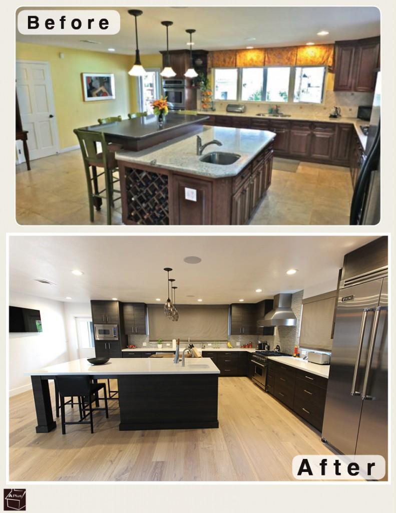 Sophia Line Cabinets kitchen remodel Long Beach