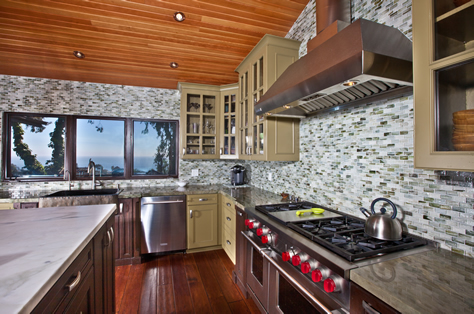 Rustic Design Kitchen Orange County