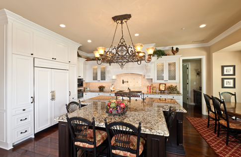 Traditional Style Kichen Remodel Orange County