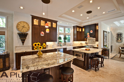 Traditional Kitchen Design Orange County