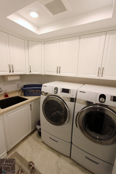 Tustin Home Remodel with New laundry room & bathrooms