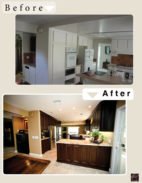 Construction Kitchen Design remodeling orange county