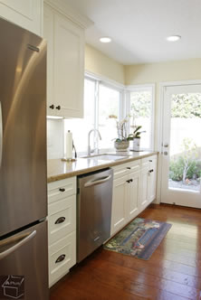 Freestanding Kitchen With Custome Cabinters Orange County