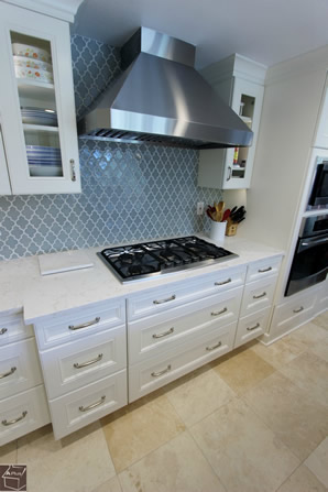 Orange County Cabinets Cabinets with Cambria Quartz Countertop