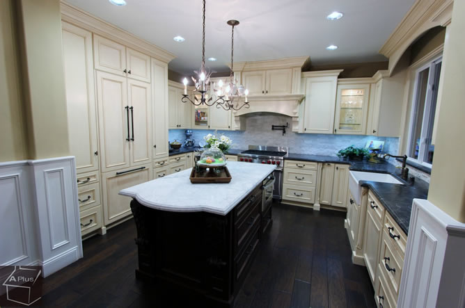 Orange County Kitchen Remodeling at A Plus Kitchens